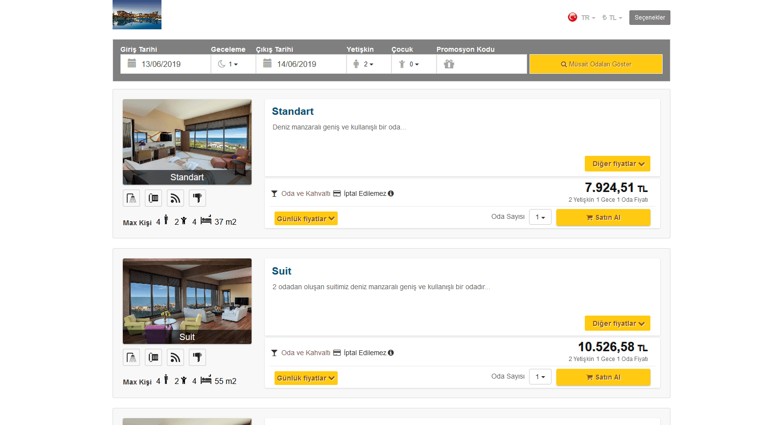 Hotel Management Sofware - Reservations
